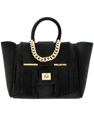 Сумка среднего размера сумка-тоут черная Alila