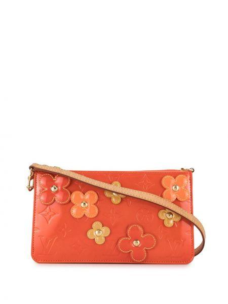 Skórzana torebka rama z kwiatowym nadrukiem Louis Vuitton Pre-owned