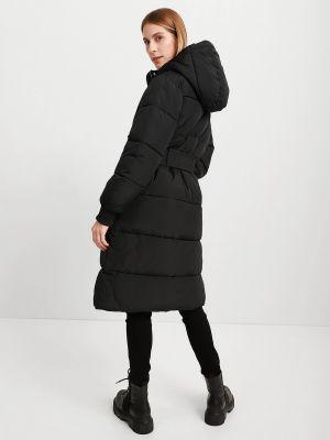 Пальто утепленное - черное Armani Exchange