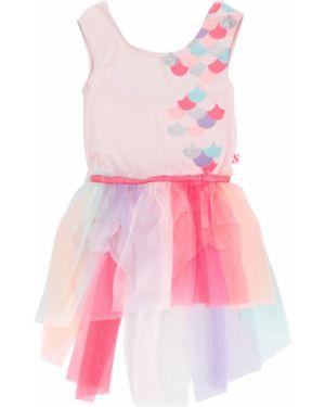 Różowa spódnica z falbanami Billieblush