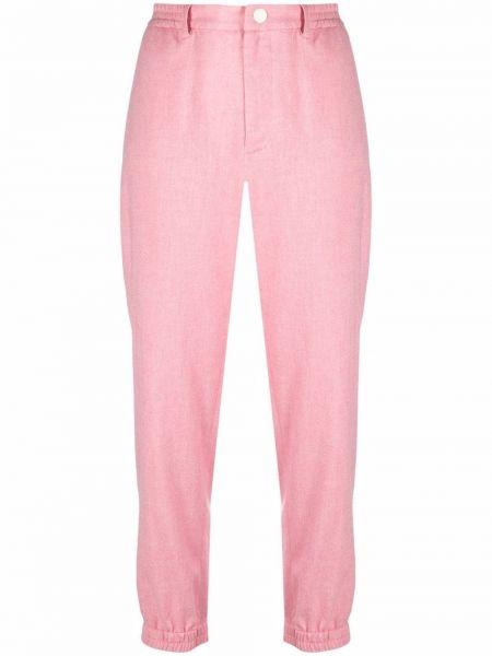 Брюки с карманами - розовые Roseanna