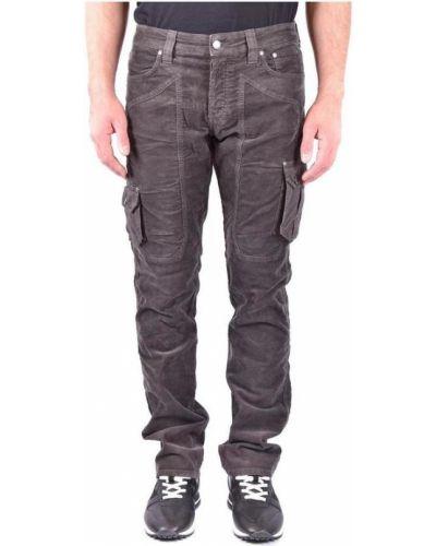 Brązowe mom jeans Jeckerson