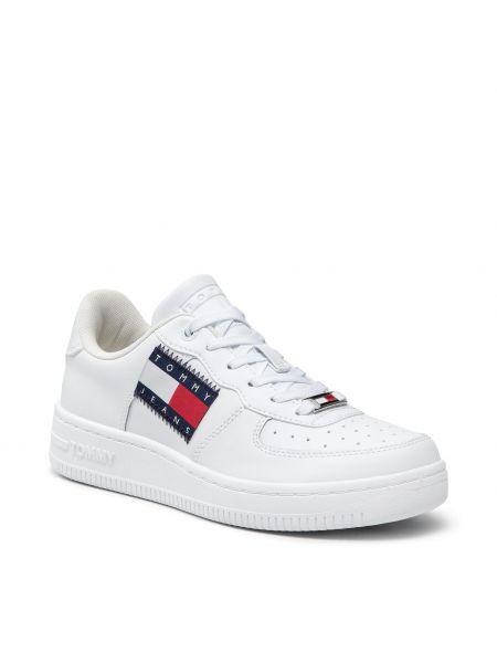 Białe półbuty casual Tommy Jeans