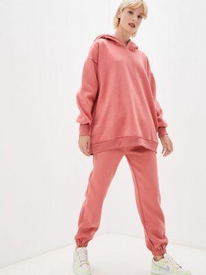 Розовый спортивный костюм осенний Fadas