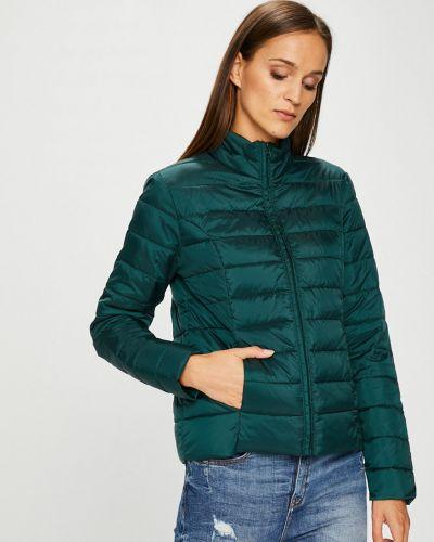 Утепленная куртка с карманами зеленая Jacqueline De Yong