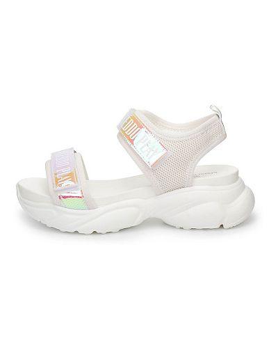 Белые сандалии летние Keddo