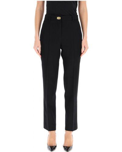 Klasyczne złote spodnie z wysokim stanem Givenchy