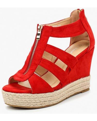 Красные эспадрильи Sweet Shoes