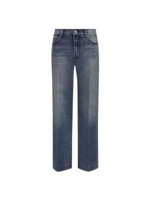 Хлопковые джинсы - голубые 7 For All Mankind