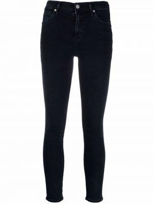 Облегающие синие зауженные джинсы классические Citizens Of Humanity