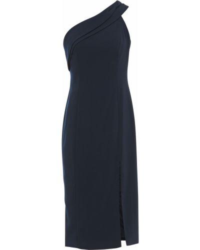Синее платье с подкладкой из крепа Jay Godfrey