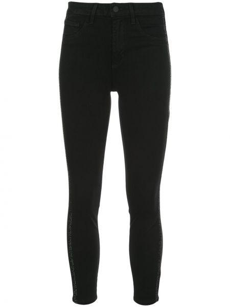 Леггинсы с логотипом джинсовые L'agence