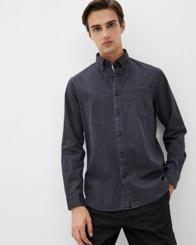 Рубашка с длинным рукавом - серая Selected Homme