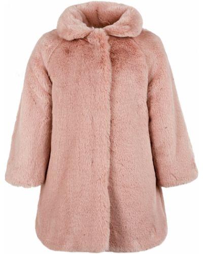 Пальто из вискозы - розовое Il Gufo