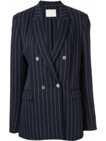 Черный пиджак с манжетами Dion Lee