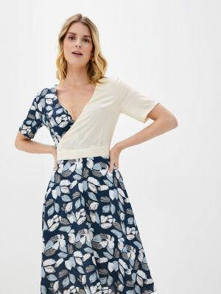 Синее платье Kristina Kapitanaki