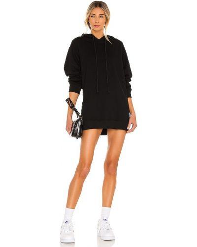 Czarna sukienka bawełniana Danielle Guizio