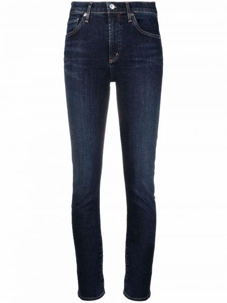 Синие хлопковые джинсы классические Citizens Of Humanity
