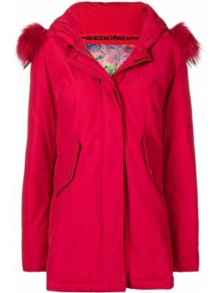 Пальто с капюшоном айвори Freedomday