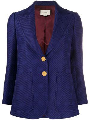 Złota marynarka - niebieska Gucci