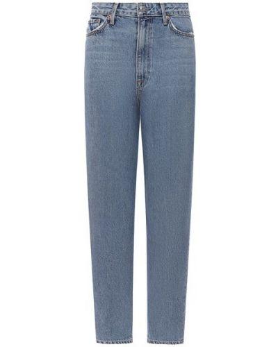 Хлопковые синие джинсы Grlfrnd