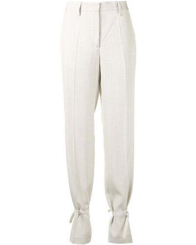 Białe spodnie na rzepy Off-white