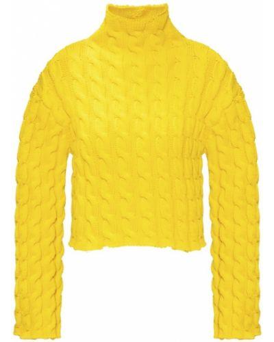 Sweter, żółty Balenciaga