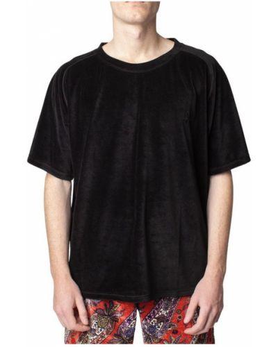 Czarny t-shirt Needles