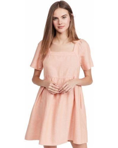 Льняное платье мини Madewell