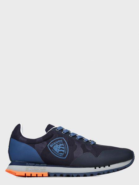 Текстильные кроссовки - синие Blauer