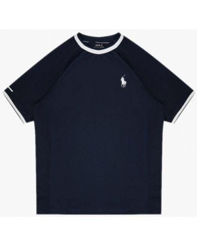 Синяя футболка с короткими рукавами Polo Ralph Lauren