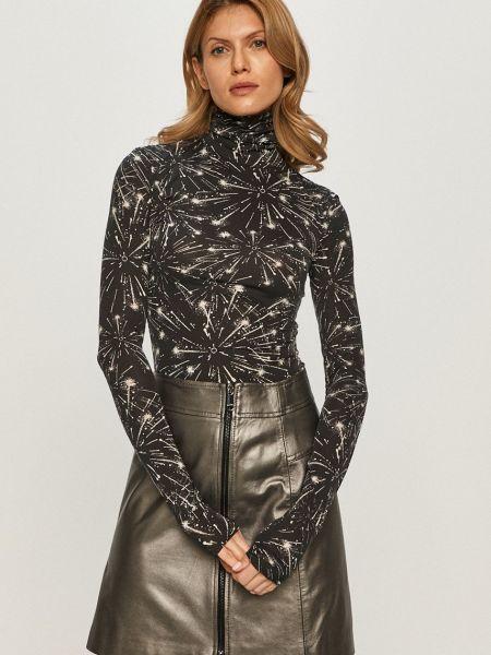 Прямая с рукавами трикотажная блузка Max&co