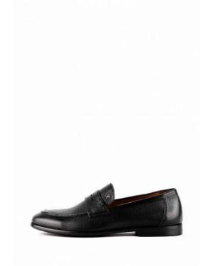 Кожаные черные туфли Leberdes