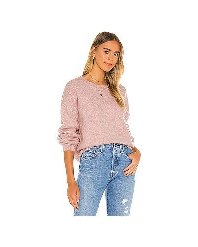 Розовый акриловый свитер Minkpink