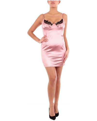Różowa sukienka mini Saint Genies