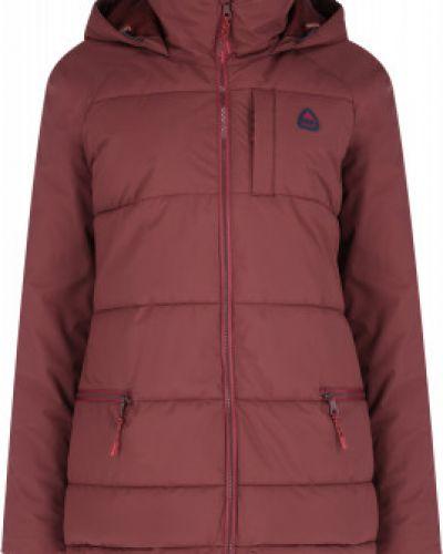 Утепленная красная куртка горнолыжная сноубордическая Burton