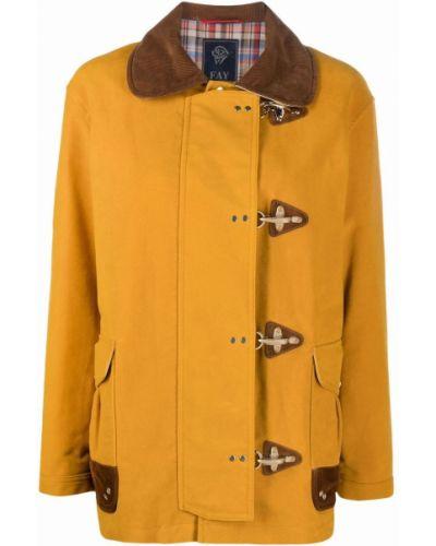 Куртка вельветовая - желтая Fay