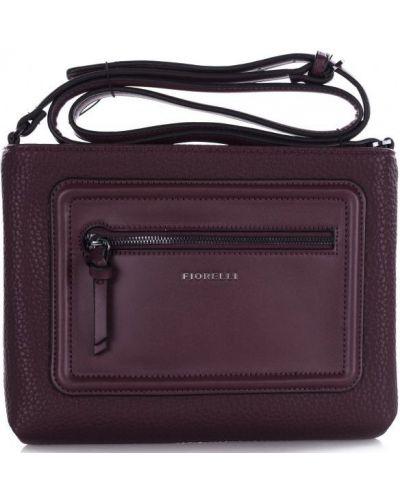 Текстильная сумка - бордовая Fiorelli