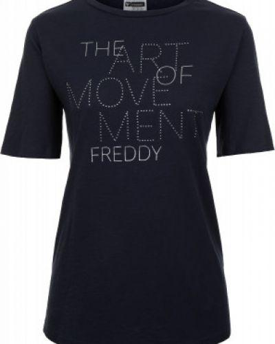 Спортивная футболка свободная хлопковая Freddy