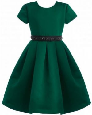 Платье мини с поясом на торжество Gulliver Wear