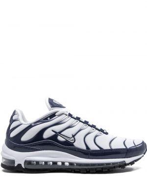 Biały top koronkowy sznurowany Nike
