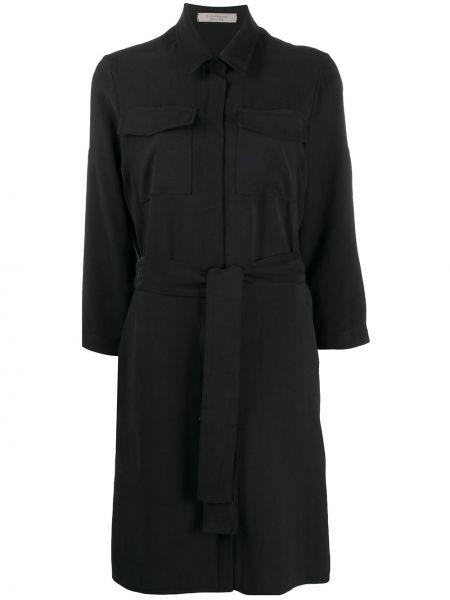 Платье макси классическое с поясом D.exterior