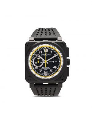 Czarny zegarek mechaniczny szafir Bell & Ross