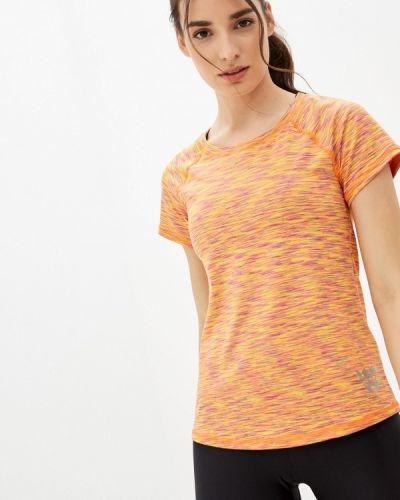 Спортивная оранжевая футболка Emdi