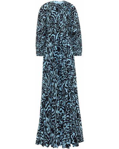 Платье макси - синее Solace London