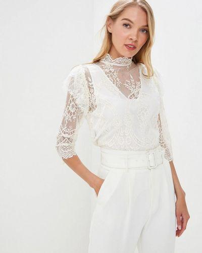 Блузка кружевная белая Imperial