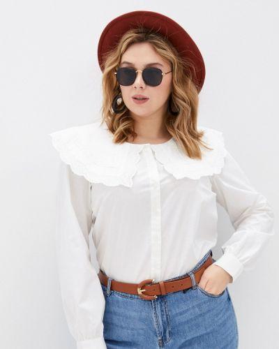 Белая рубашка Zizzi