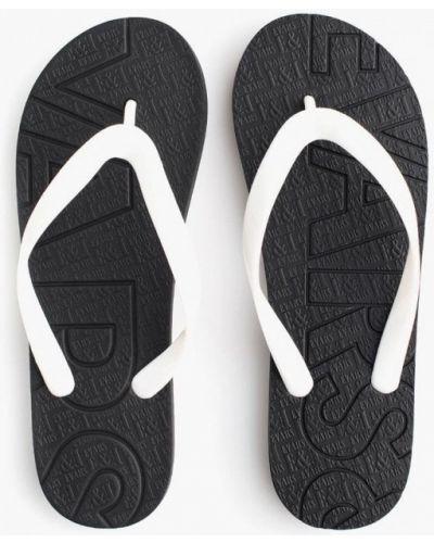 Черные сланцы пляжные Evars