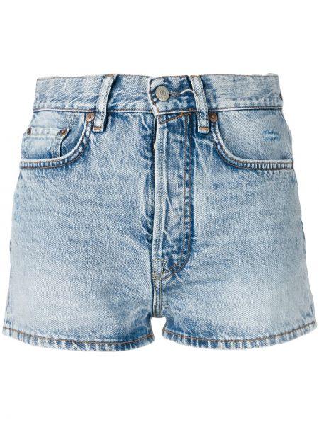 Джинсовые шорты с карманами Acne Studios
