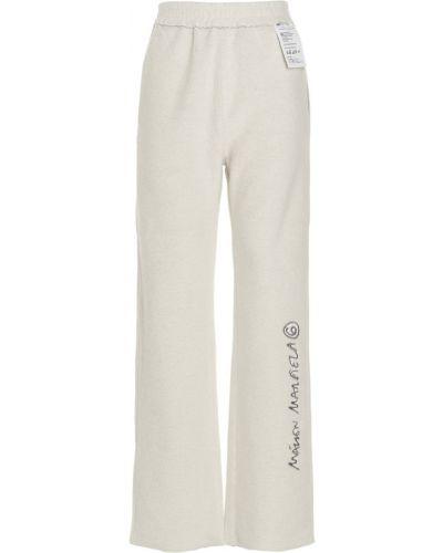 Spodnie - szare Mm6 Maison Margiela